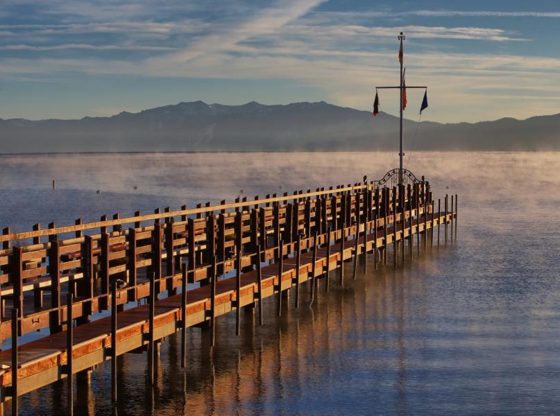 Jetty at Lake Tahoe