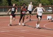 Running the 400m Relay at Stanford Invitational