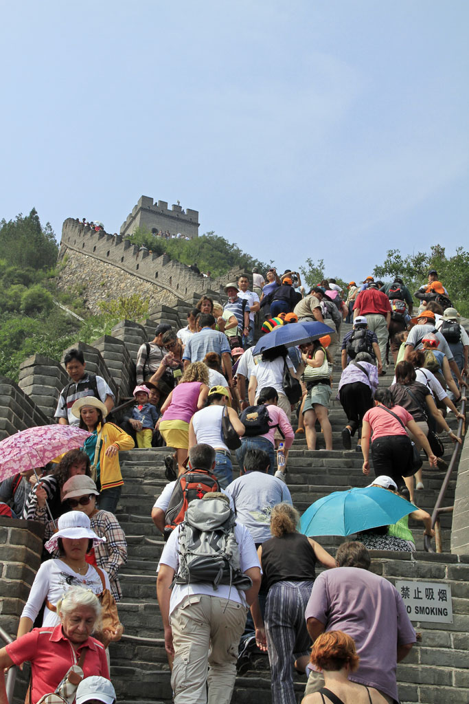 Climbing the Great Wall with the Hoards - Beijing