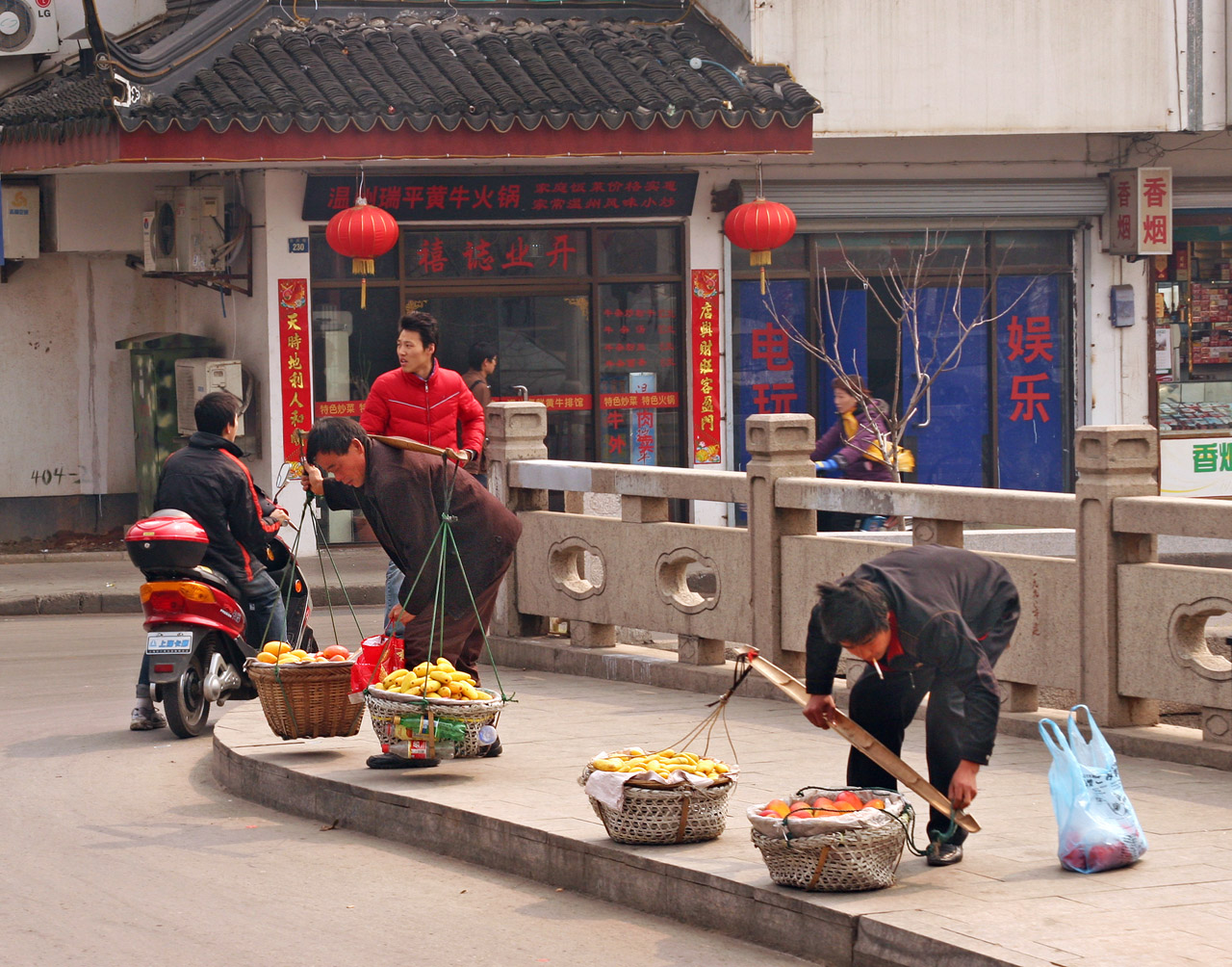 Getting Wares Ready-Shanghai,China