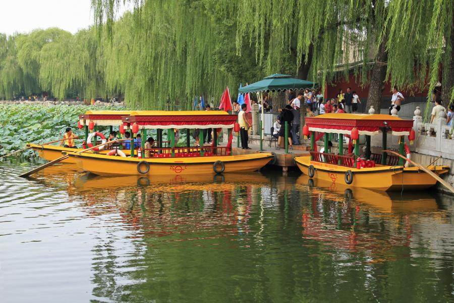 Boats for Hire - Bei Hai Park, Beijing