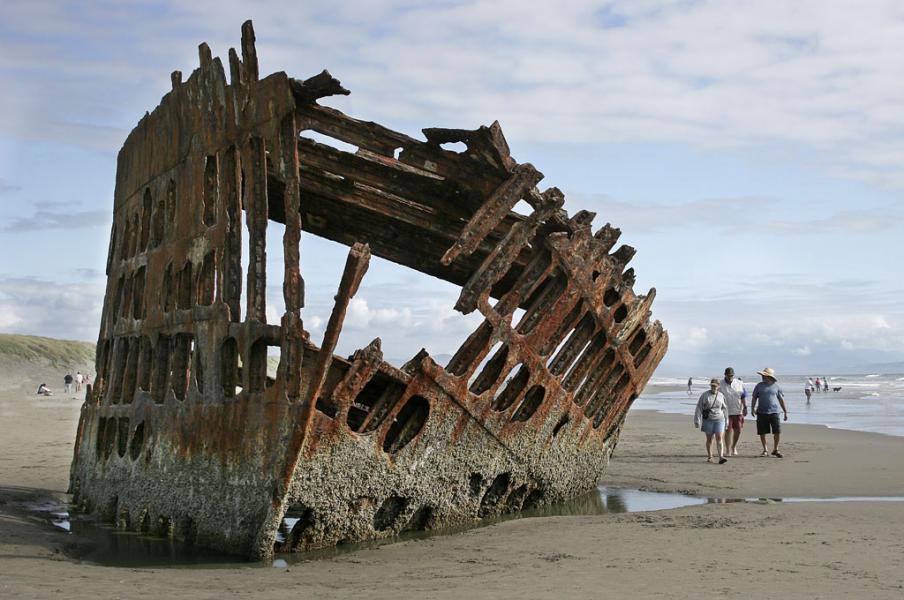 The Peter IredaleOregon Coast
