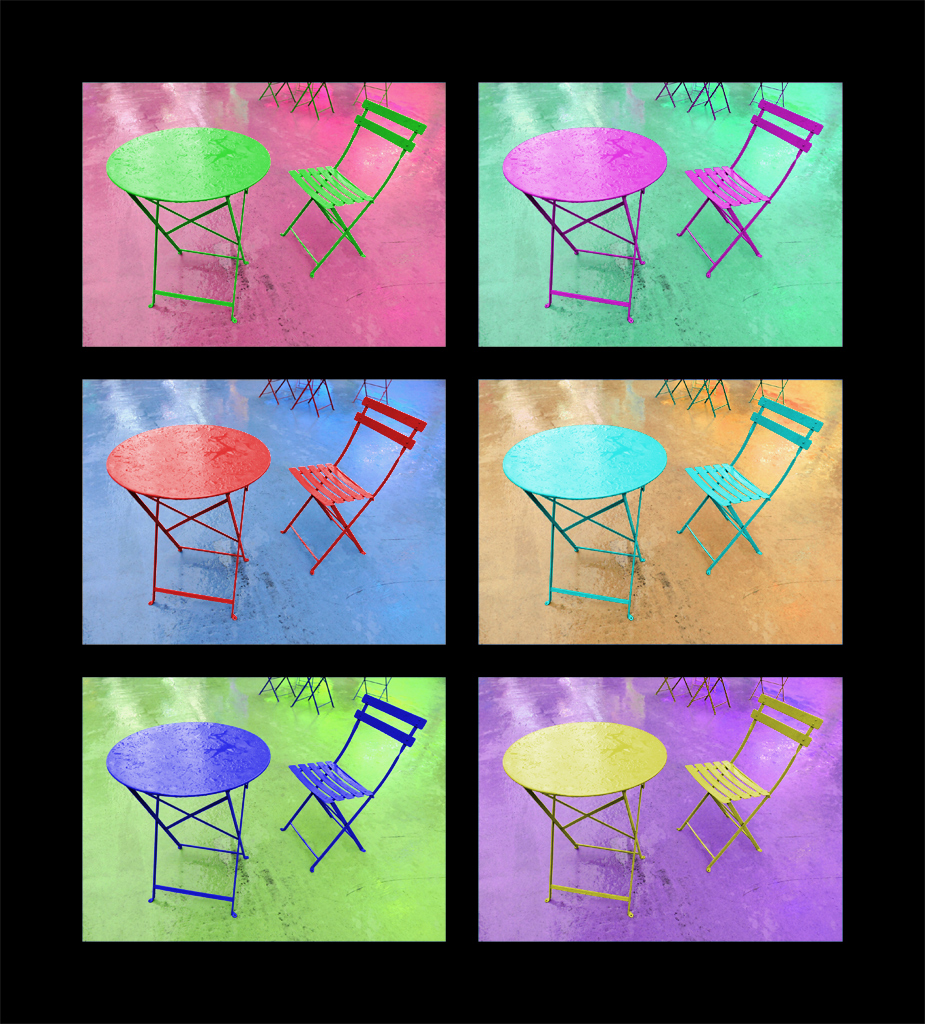 Table and Chair Colors