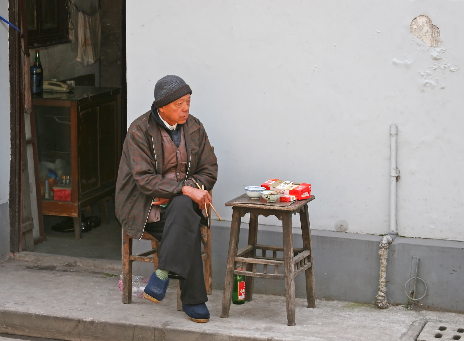 Lunch Break-Old Hutong District-Shanghai, China