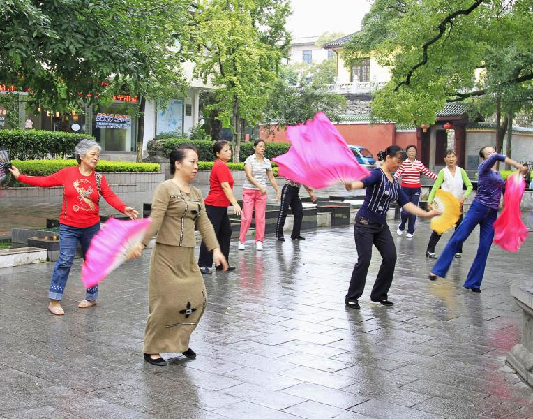 Morning Exercises - Guilin, China