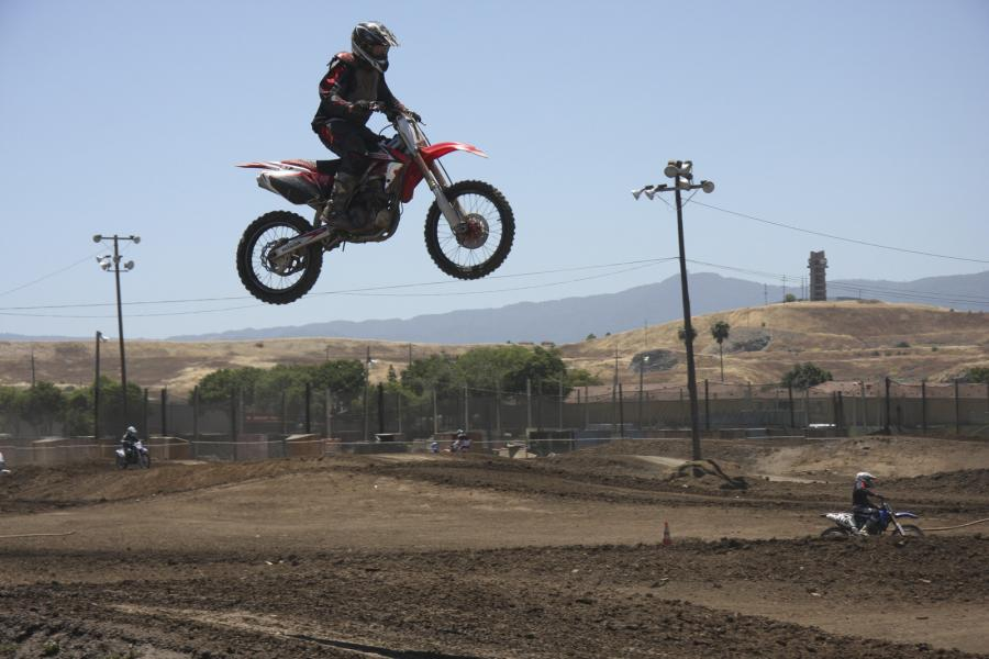 A High Wire Act- Motocross Practice in San Jose