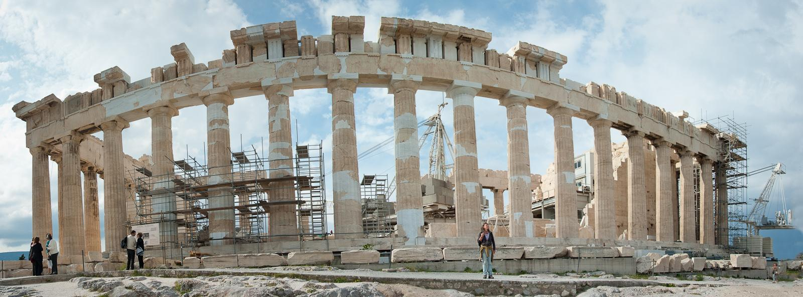 The Parthenon - deconstructed and reconstructed
