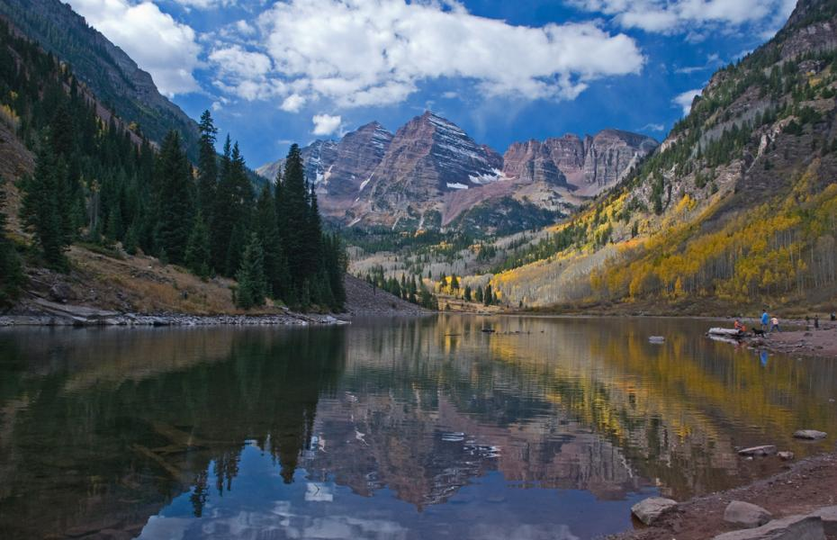 Maroon Bell in Fall, Aspen, Colorado