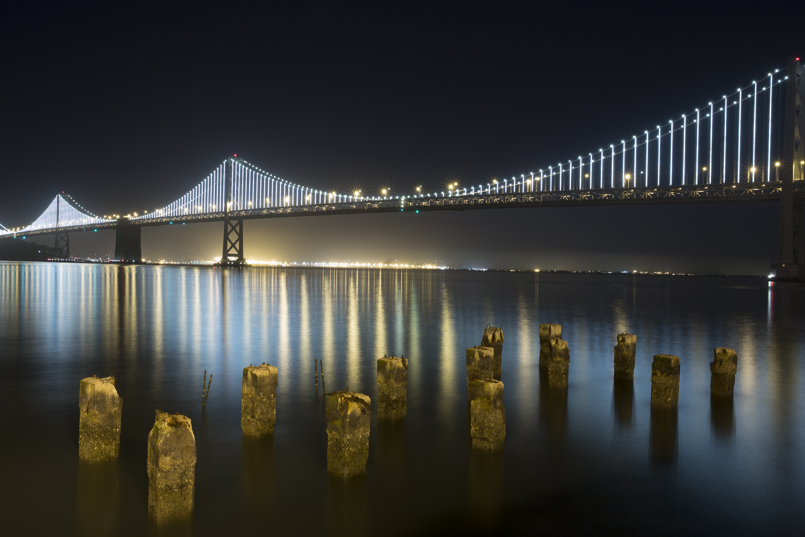 1st Anniversary of the Bay Bridge Lights