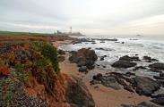 Pigeon Point and the Lighthouse